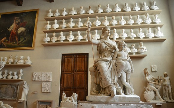 Accademia Gallery Florence Italy580