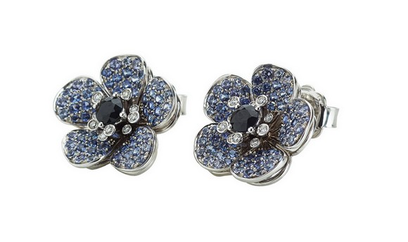 FLOWERS PAVE Ferragamo Jewels580