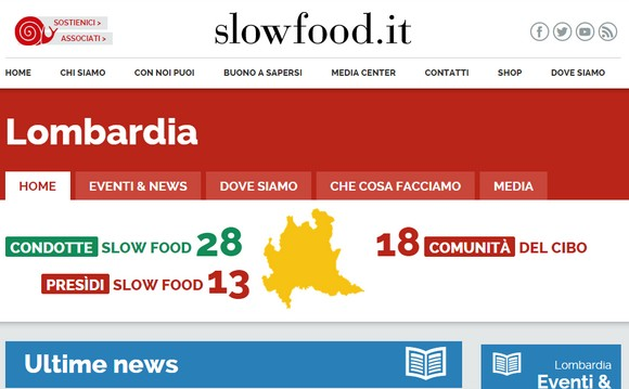 slow food lombardia sito