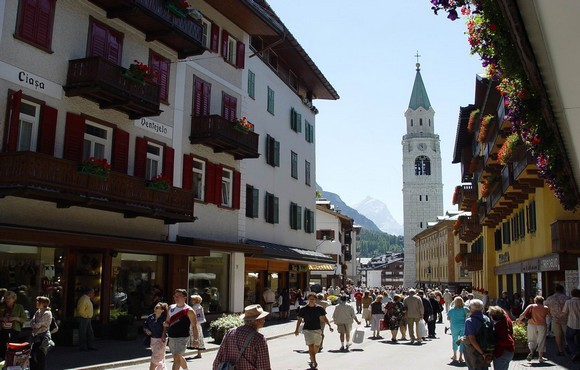 Cortina, the queen of taste, sapori in corso