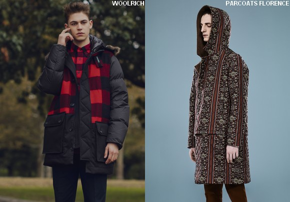 WOOLRICH PARCOATS FLORENCE