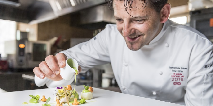 Chef Peter Girtler incanta all'Hotel Stafler di Vipiteno