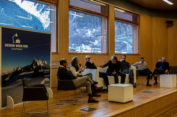 COURMAYEUR DESIGN WEEK END: IL DESIGN PUNTA IN ALTO E SALE IN VETTA AL MONTE BIANCO