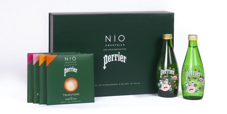 NIO COCKTAIL PERRIER, NUOVA LIMITED EDITION BY MURAKAMI