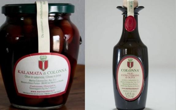 Marina colonna premiata per le migliori olive da tavola - Tipi di olive da tavola ...